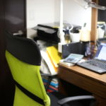 物を減らして 家の中に小さな事務所を作りました そしてまた『おうち計画』