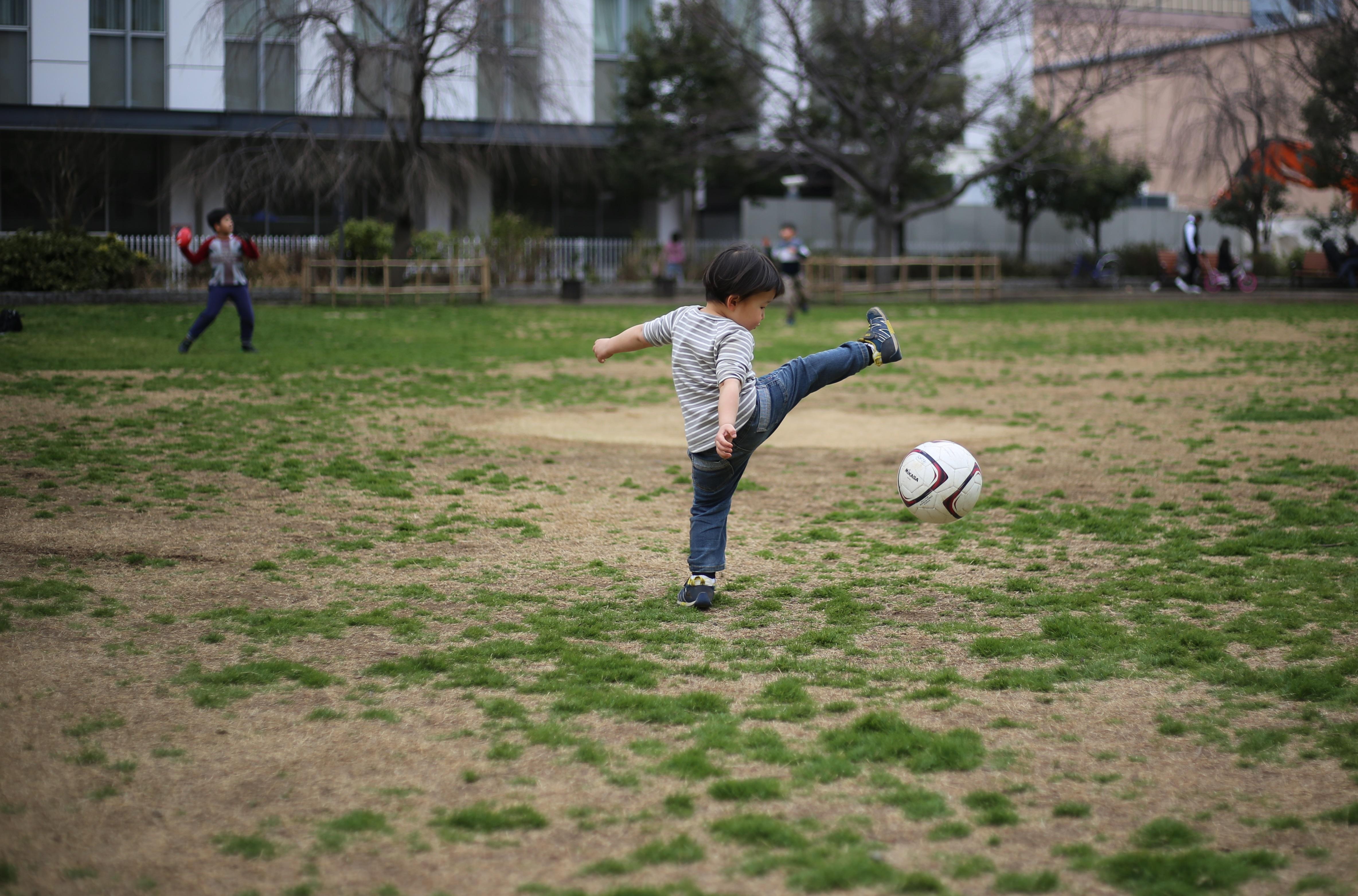 同じ公園で今度は良いもの見た。【子育て参加】の限界点を超えろ。