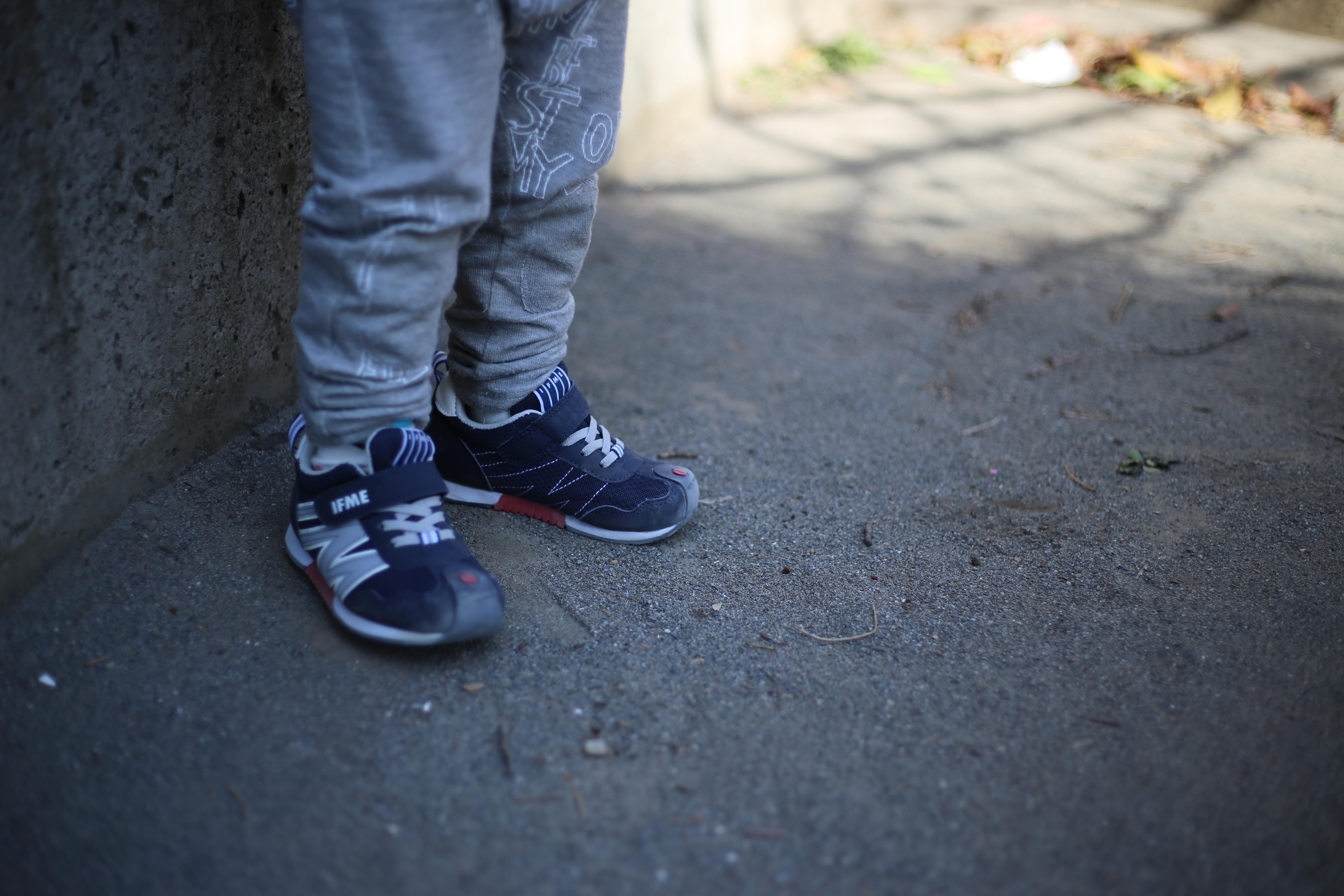 難しいけど楽しくもなってきた 子供の靴選び 5歳&3歳
