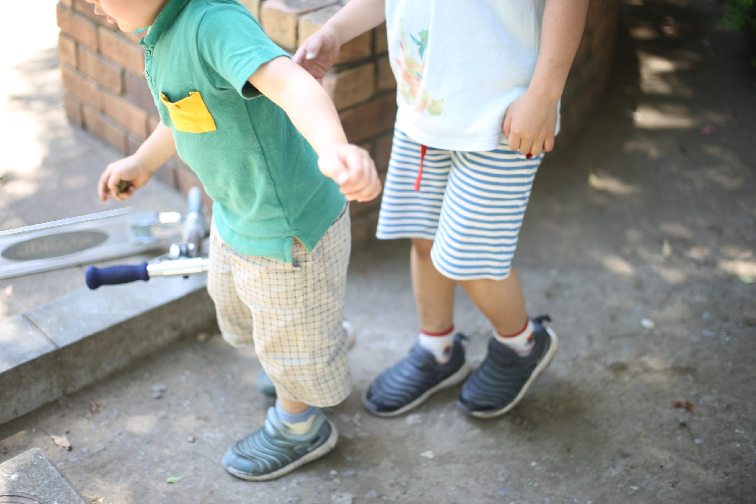 自宅保育の影響か?兄弟遊びが加速しています。